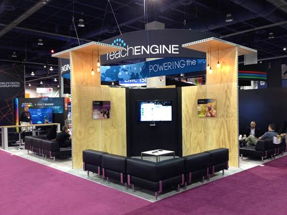 Extruded Frame System Tradeshow Display