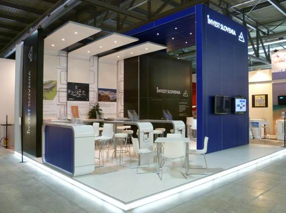 Extruded Frame Systems Trade Show Display