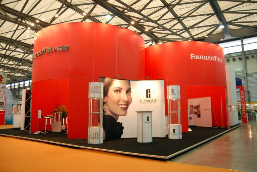 Fabric Trade Show Architecture Display