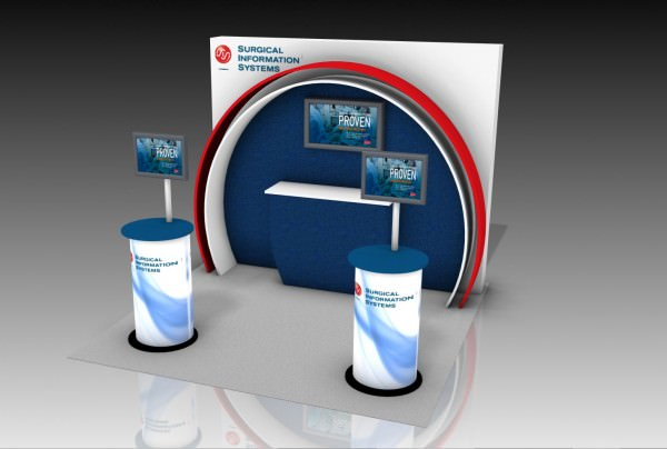 Trade Show Informational Video Presentation Display