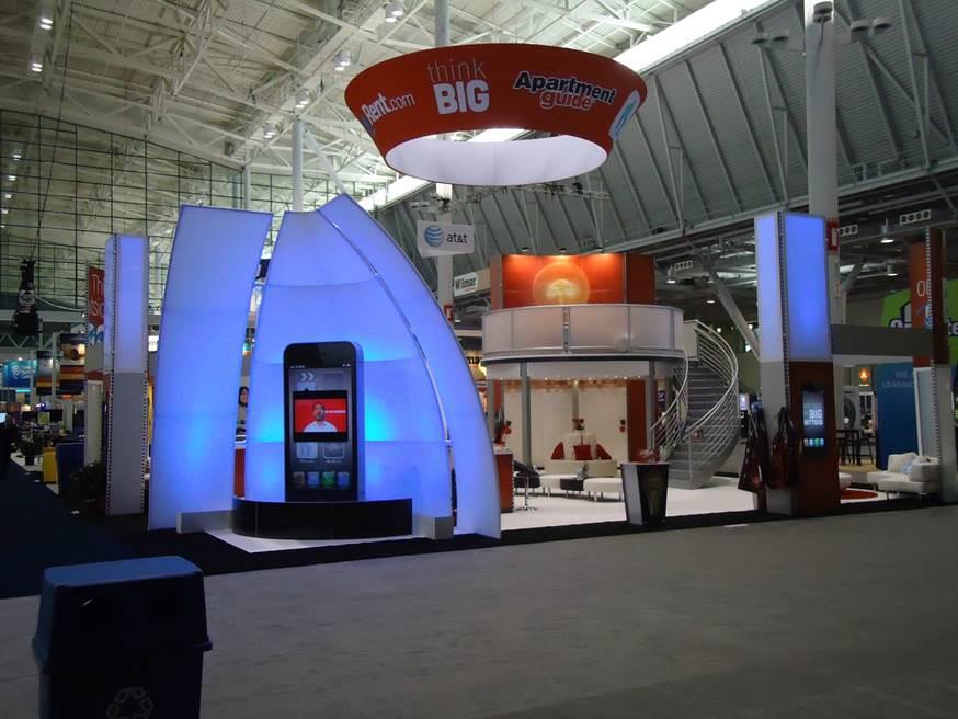 Logistics Tradeshow Maketing Display