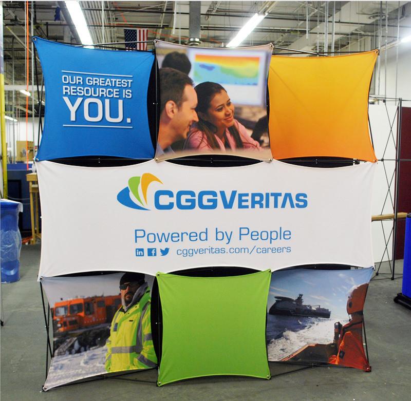 More Ideas CGGVeritas Display