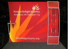Custom rental trade show displays