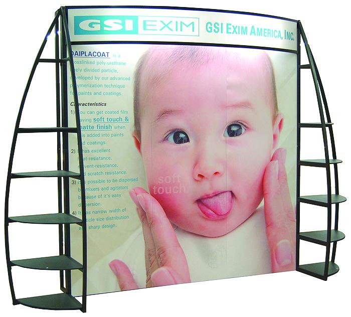 OutRigger Trade Show Marketing Display