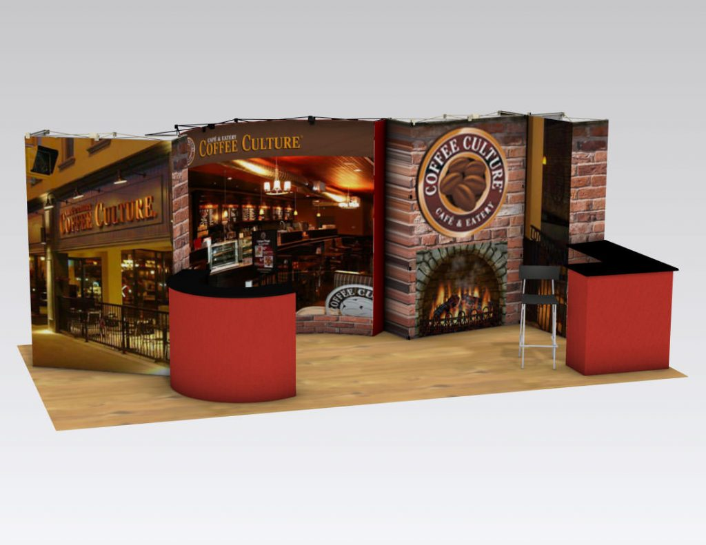 Portable Pop-up Trade Show Display