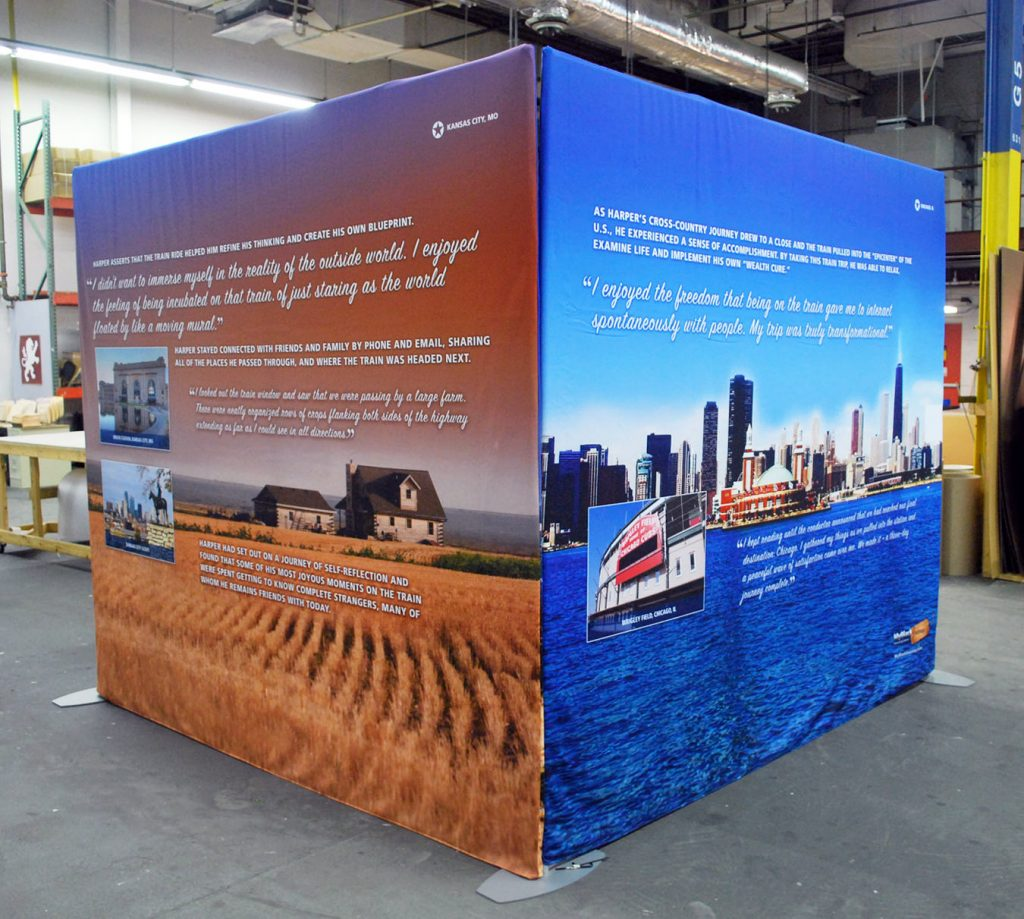 Tube Frame Systems Trade Show Display