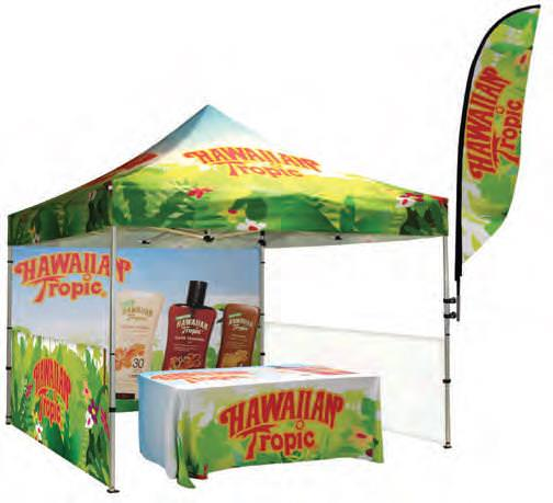 Hawaiian Tropic Outdoor Display