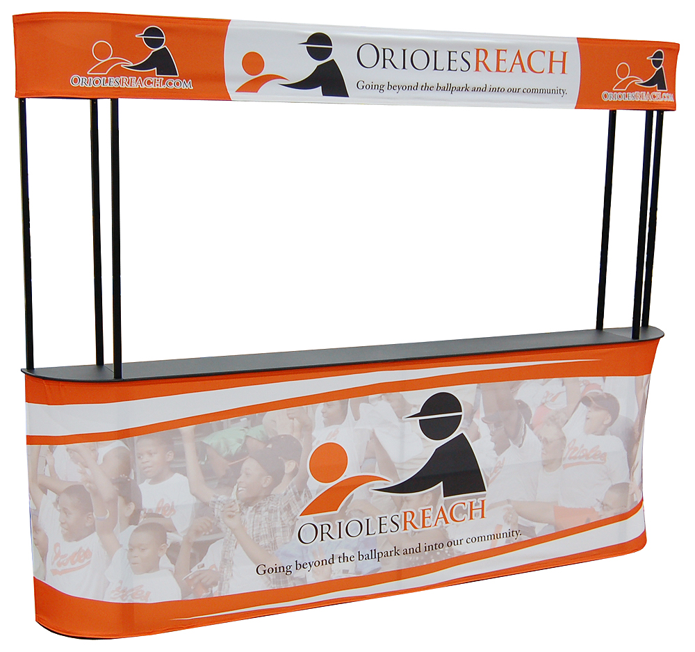 outside and inside counter non profit organization frame