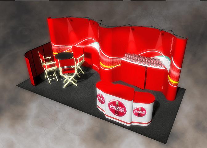 Coke Pop-Up-Display
