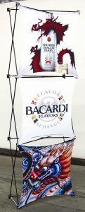 Fabric Montage Image of Bacardi 2