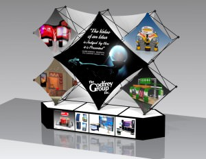 Fabric Portable Tradeshow Display