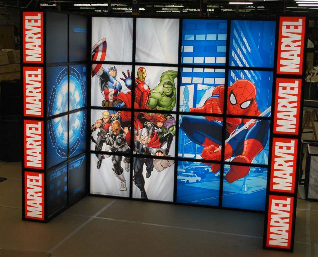 light box display forum frame custom