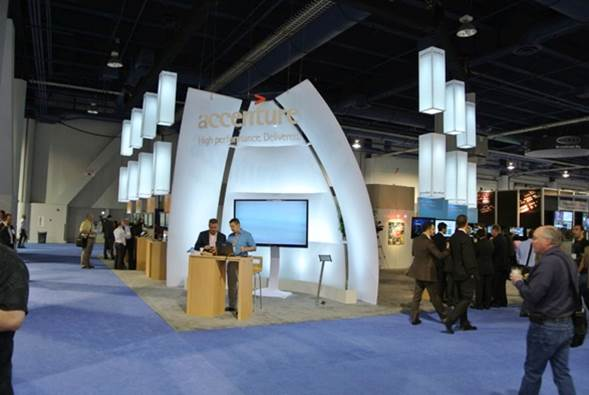 LED Lights Tradeshow Display