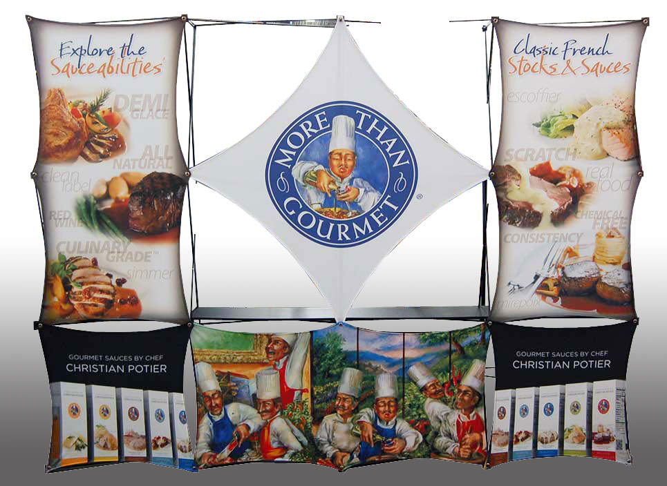 More Ideas Gourmet Display