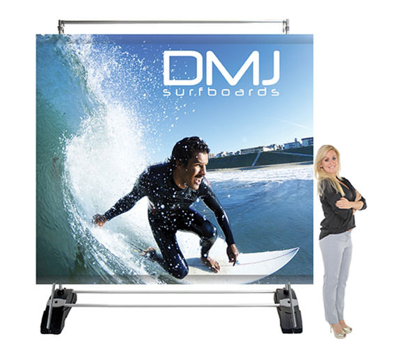 Outdoor Billboard and banner stand