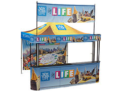 Outdoor and event displays