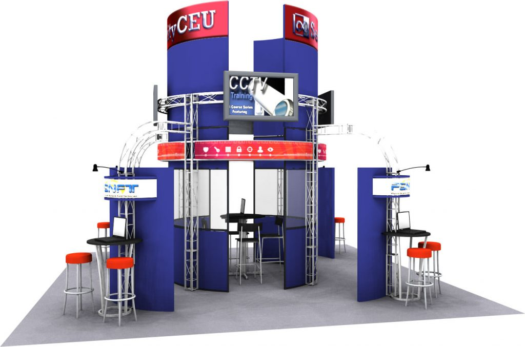 Truss Space Beam Tradeshow Display