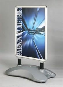Water base snap frame