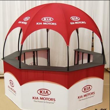 Kia Kiosk Dome promotional event