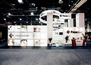 Trade show rental displays by Eyekon Group