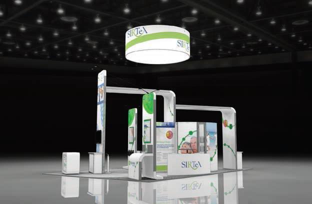 Eyekon Group- rented custom trade show display