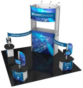 Rent a custom trade show display from Eyekon Group